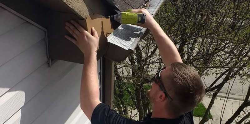 bat proofing fascia with metal