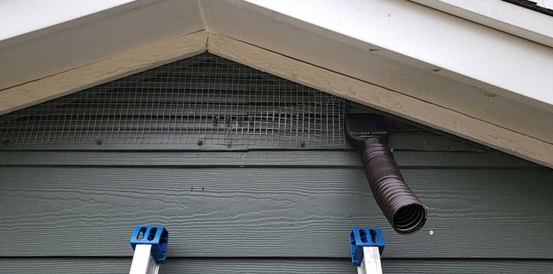The bat valve TBV-SG3 at  Perrysburg Bat Removal